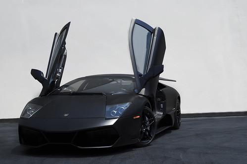 black up doors 4 super rims lamborghini nero sv matte scissor nemesis murcielago lambo veloce murci superveloce lp670
