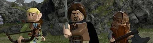 LEGO LOTR Game