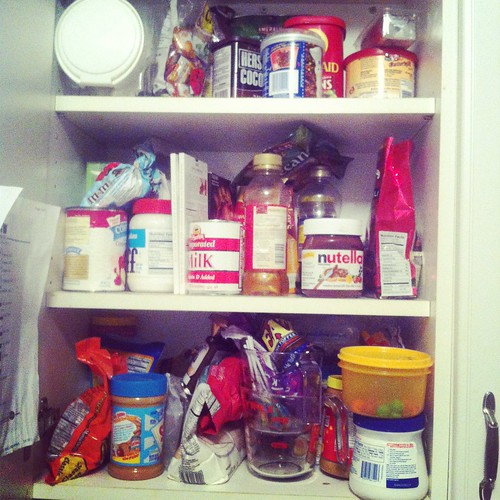 Baking cabinet - before