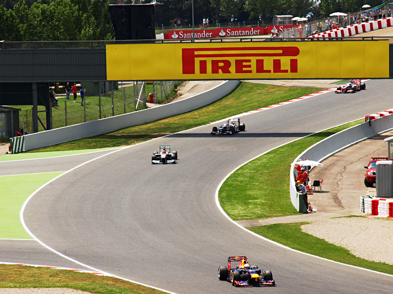 Start of Spanish Grand Prix, Circuit de Catlunya, Barcelona