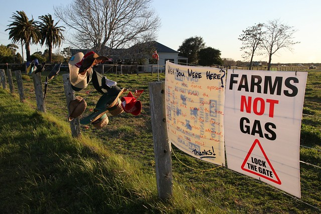 Fullerton Cove Blockade Against CSG