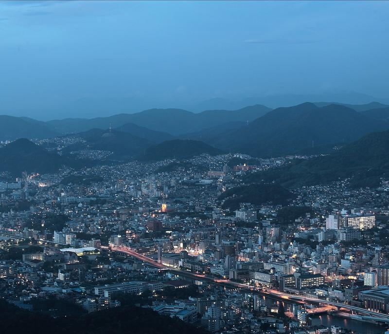 長崎の夜。