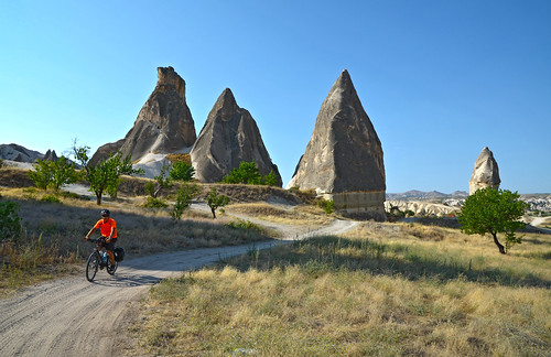 Cycling through Cappadocia (Göreme)
