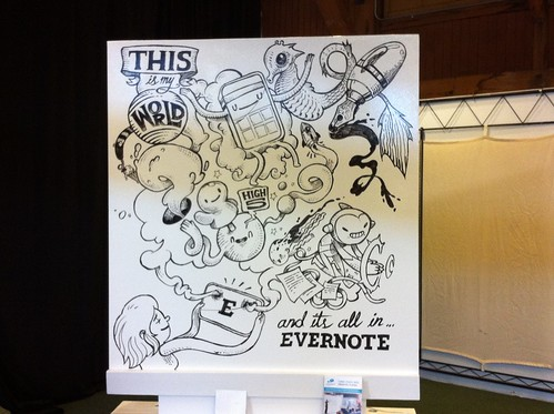 IdeaPaint Evernote