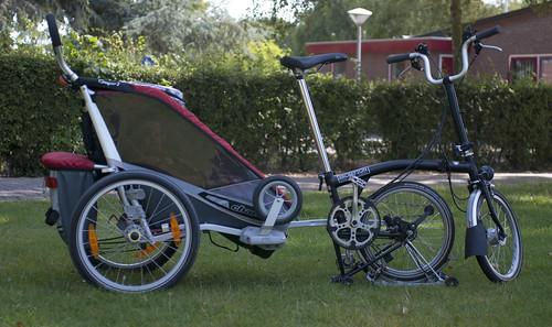 Brompton + Chariot Cougar