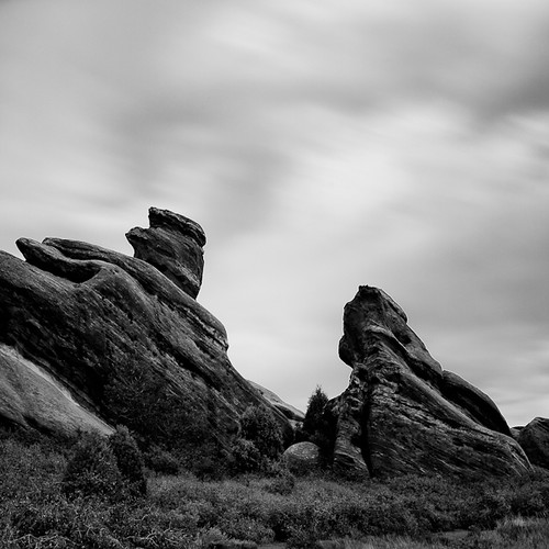 longexposure two sky blackandwhite nature clouds square landscape colorado rocks angles nd110 redrocksparkandamphitheater