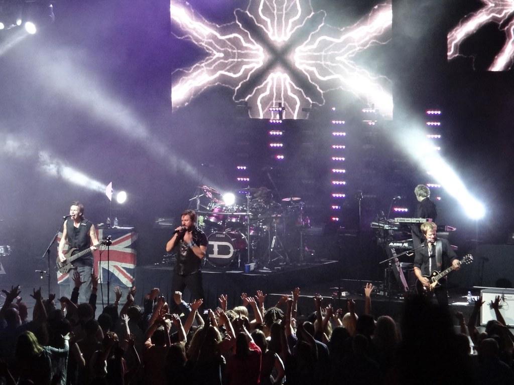 Duran Duran Foxwoods MGM Grand 2012