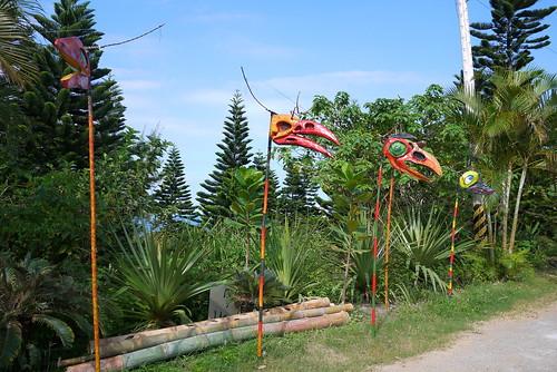 Jean-Paul Richon的作品《風鳥 Wind Birds》,聽見大自然、溼地的聲音。(圖片來源:林務局)