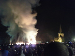 Brockham bonfire 2012