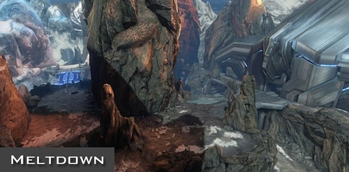 Halo 4 Meltdown Map Strategy Guide