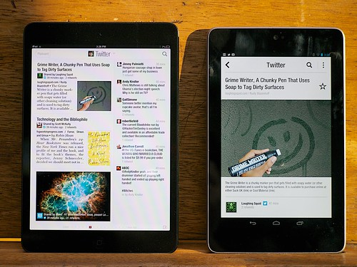 iPad Mini - Flipboard