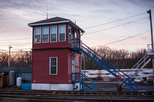 railroad sunrise maryland brunswick marc commuterrail commutertrain wbtower brunswickmaryland marylandarearailcommuter