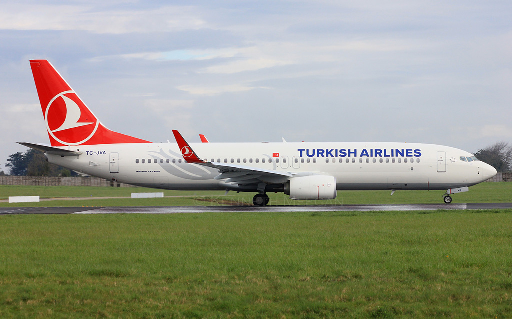 TC-JVA - B738 - Turkish Airlines