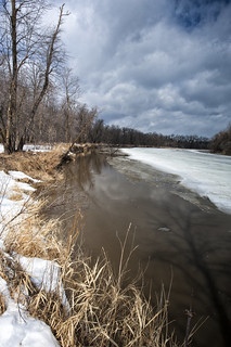 Spring breakup on the Assiniboine