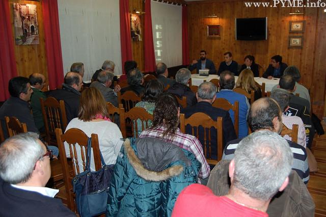 Asamblea informativa de la Asociación de Empresarios del Polígono de los Villares.