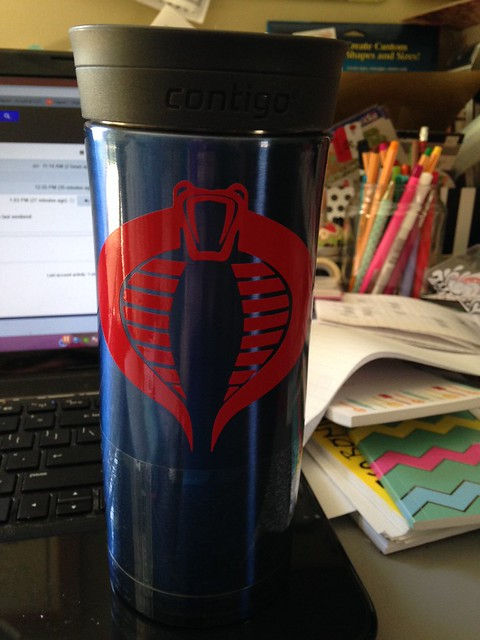 Cobra (GI Joe) travel mug