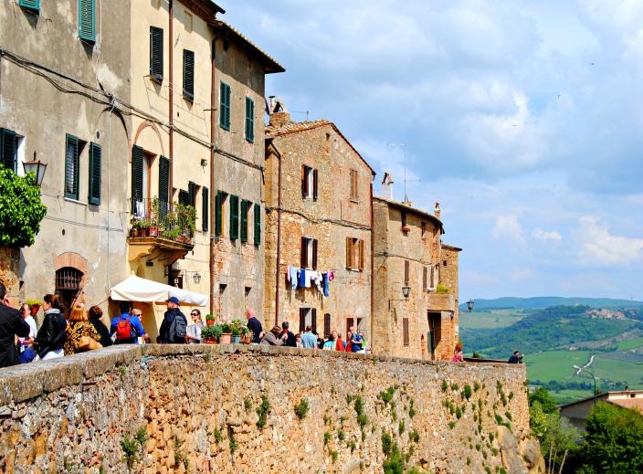 Pienza_Tuscany, Itay (009)