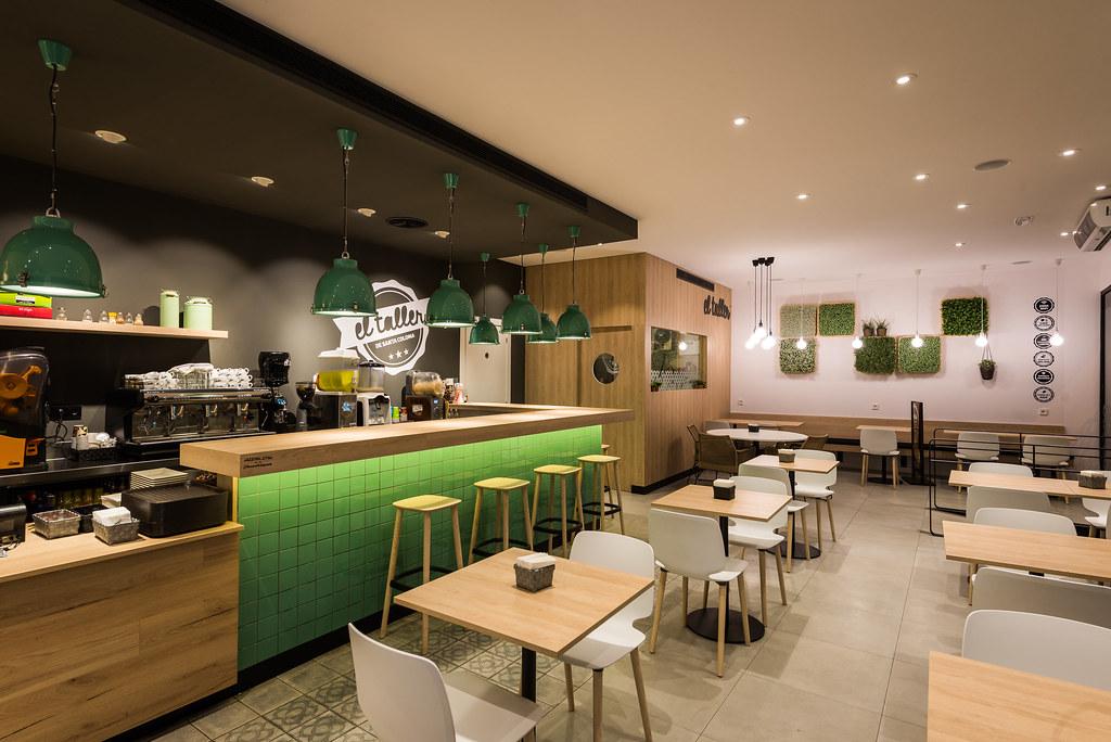 Reforma cafeter a panader a el taller locales comerciales - Disenadoras de interiores ...