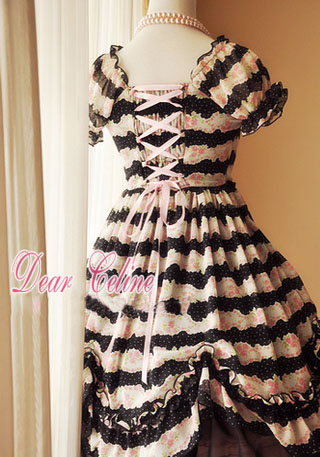 Dear_Celine_Summer_Princess_Printed_Rose_Chiffon_Lolita_Dress_5