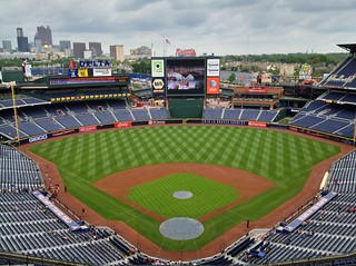 """....right behind Home Plate"" (Turner Field)"