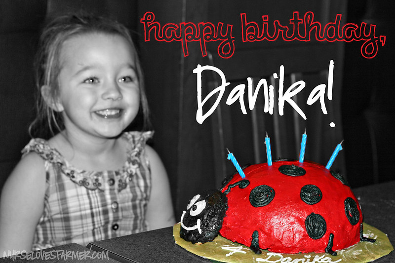 Danika's 4th Birthday