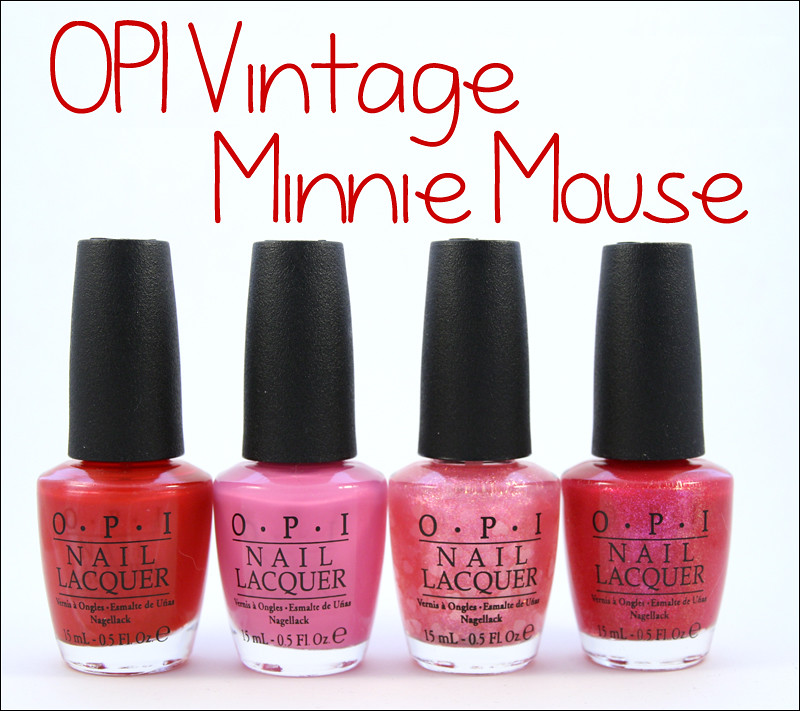 opi vintage minnie mouse