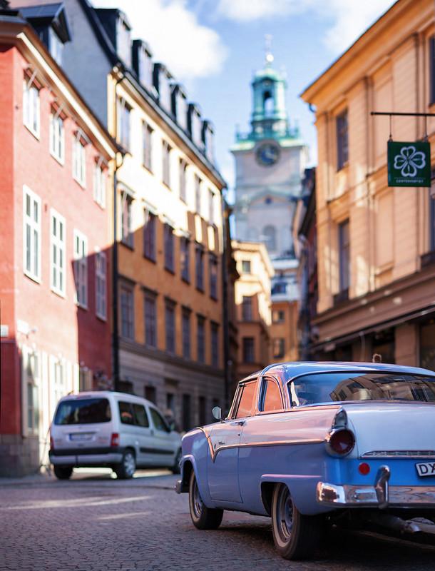Ford Fairlane, Stora Gråmunkegränd, Stockholm