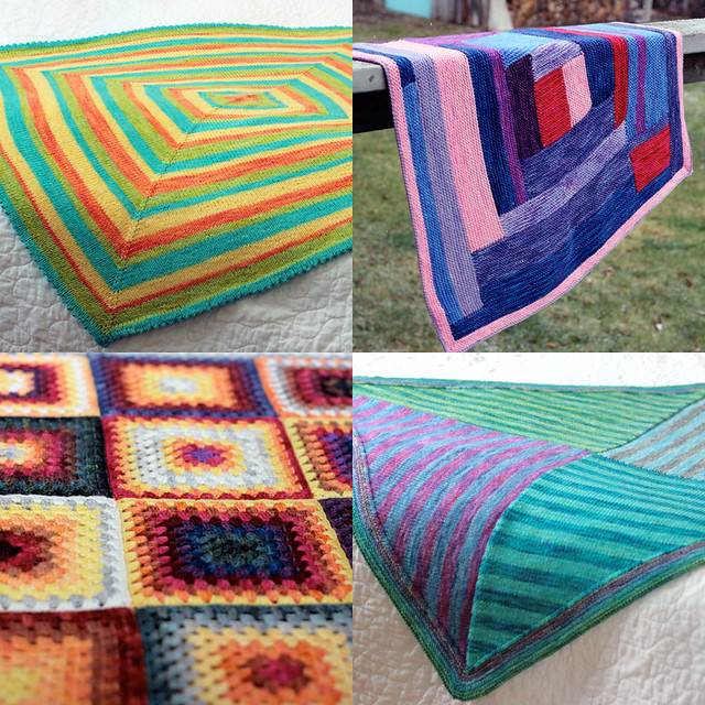 2012 colour KAL inspiration - blankets!