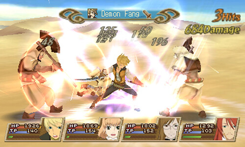 Tales of the Abyss - battle