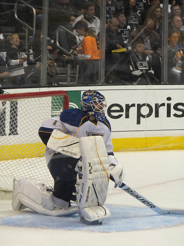 Brian Elliott of the St. Louis Blues