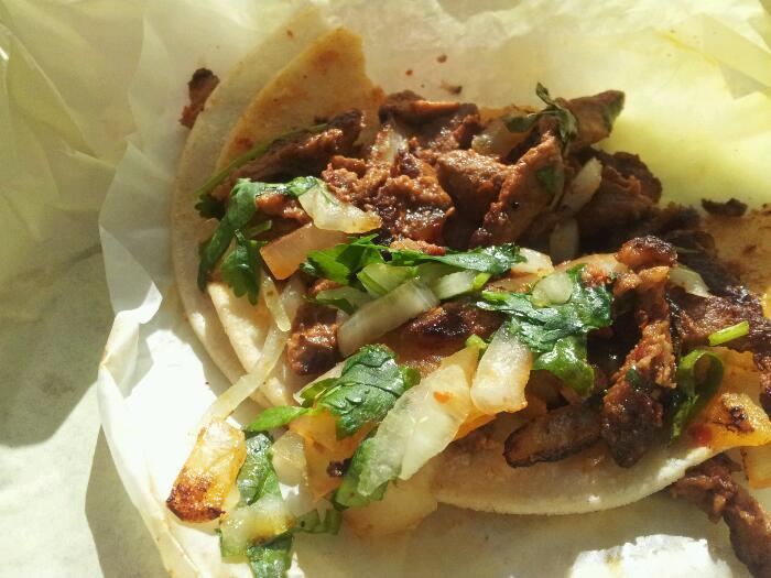 Great food truck taco
