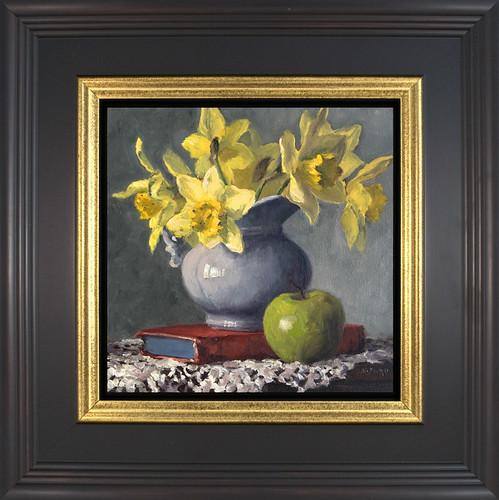 Daffodils & Vasari - framed