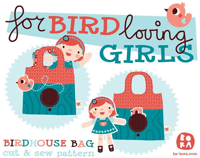 Little birdhouse bag