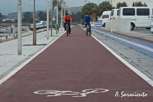 90/365+1 Carril Bicicletas, Paseo marítimo de Palmones. by Alfonso Sarmiento.