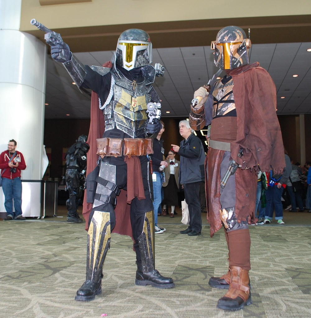 Mandalorian Mercenaries!
