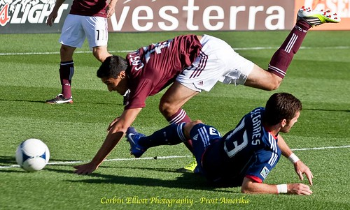 Tony Cascio Colorado Rapids 1 Apr 2012 by Corbin Elliott Photography, denver photographer