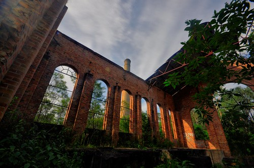 Aberdare South Colliery Ruins #2