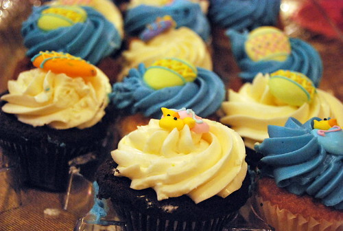 easter - cupcakes