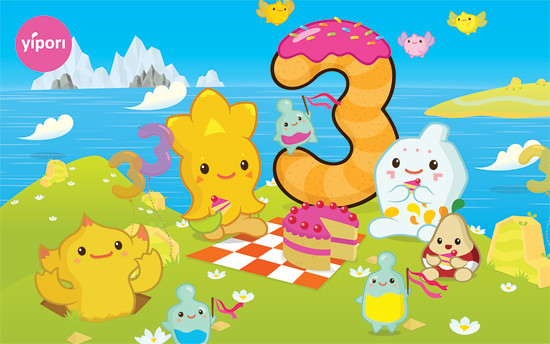 Yipori turns three!