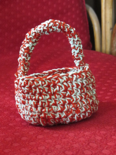 Crochet basket by always_smile..