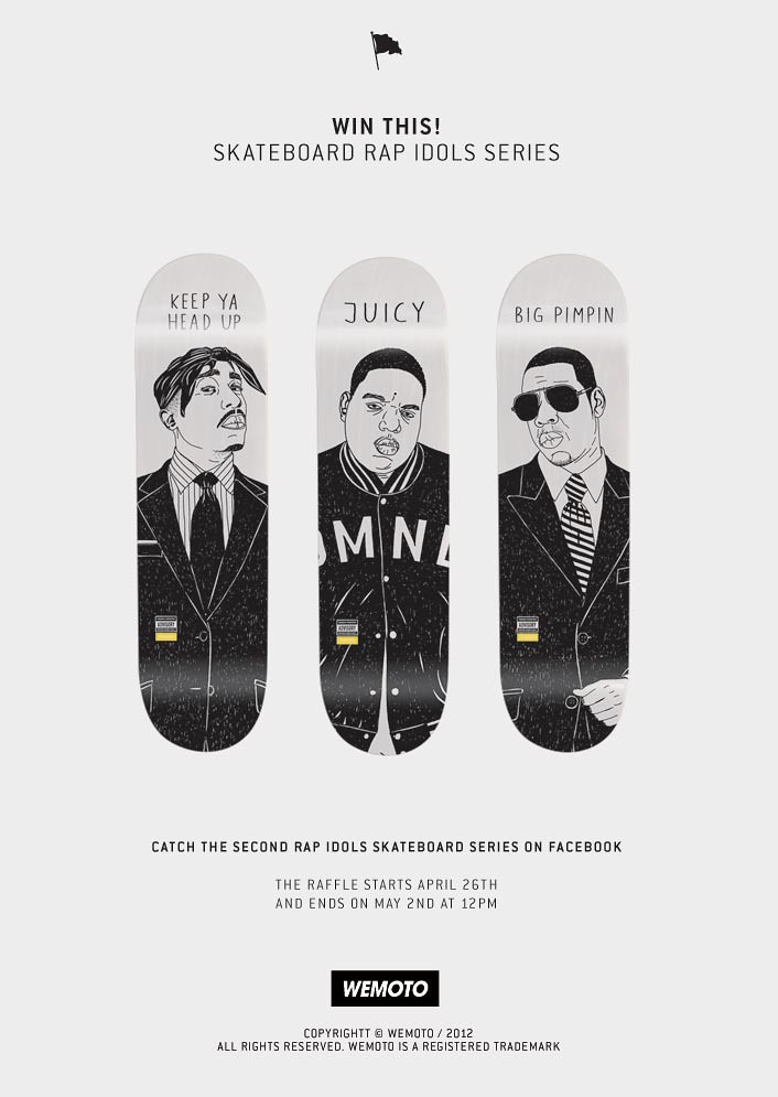 WIN THIS! skateboard rap series