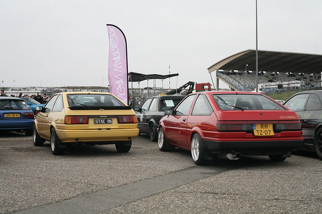 Two of a kind: AE86 hatchbacks