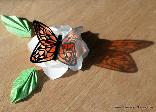 DIY Paper & Tape Butterflies