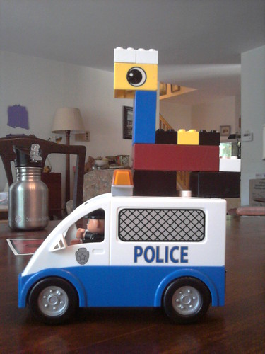 Police Giraffe