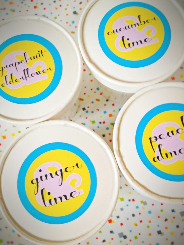 Printable Sorbet Labels