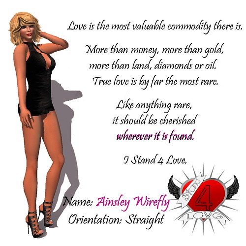 Ainsley Wirefly -  I Stand4Love