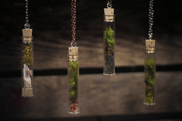 Terrarium Necklaces