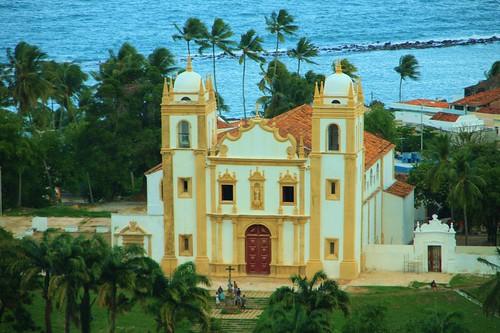 Igreja de Nossa Senhora do Carmo vista do Mirante