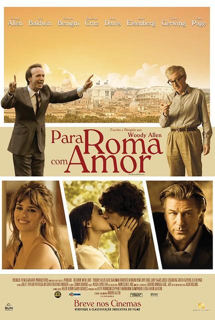 Para Roma com amor, de Woody Allen