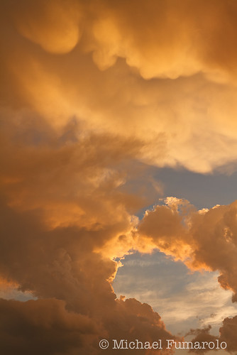 Thunderstorm Sunset Light - 01